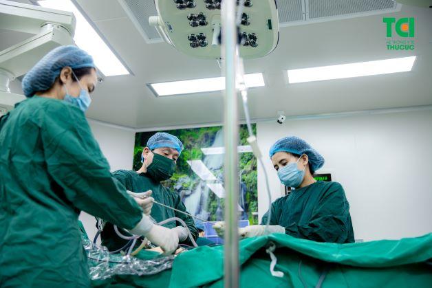 Điều trị tắc vòi trứng bằng phương pháp mổ nội đem lại hiệu quả cao, thời gian thực hiện nhanh, ít biến chứng