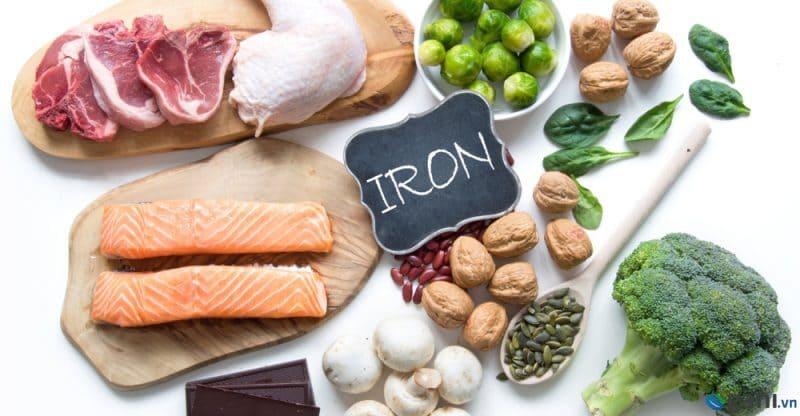 Một số thực phẩm giúp mẹ bổ sung sắt tự nhiên