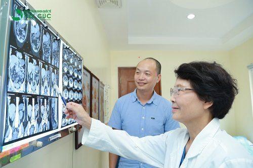Bệnh viện Đa khoa Quốc tế Thu Cúc đang khám và điều trị nhiều bệnh lý khác nhau trong đó có xuất huyết tiêu hóa.