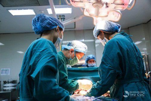 Phẫu thuật là một trong những phương pháp điều trị hiệu quả ung thư dạ dày