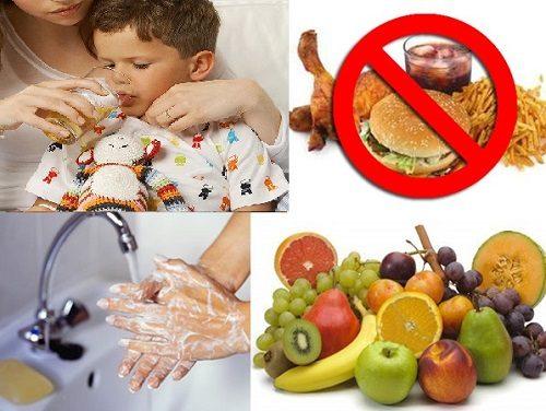 Cần chú ý tăng cường sức khỏe cho trẻ qua chế độ ăn uống hàng ngày để ngăn ngừa nguy cơ mắc các bệnh lý ở dạ dày