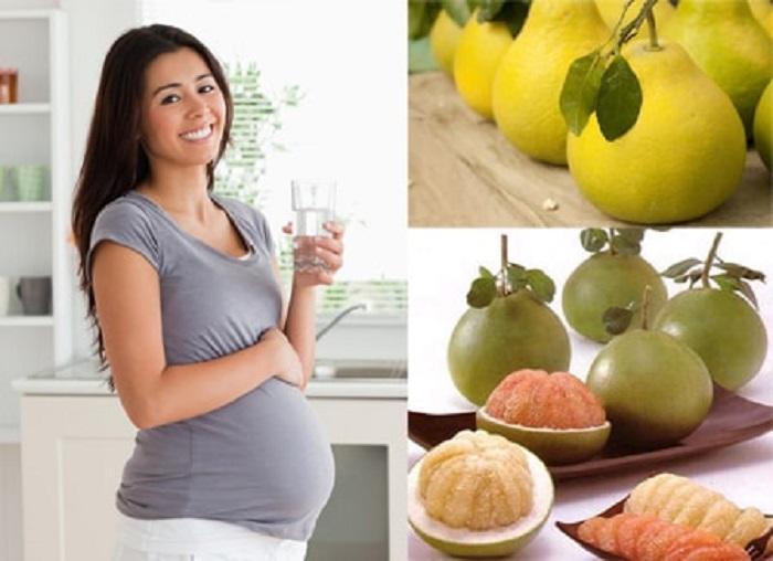 Mang thai mẹ bầu ăn bưởi rất tốt cho cơ thể