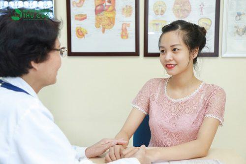 Người bệnh cần đi khám để có biện pháp điều trị bệnh hiệu quả