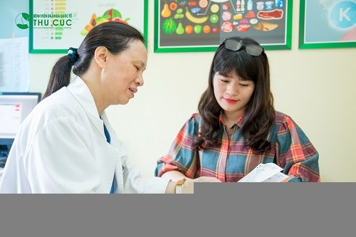 Người bệnh cần đi khám để bác sĩ chẩn đoán chính xác tình trạng sức khỏe và tư vấn phương pháp chữa trị phù hợp