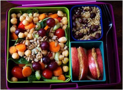 Bữa trưa chứa đủ chất xơ và protein giảm triệu chứng đầy hơi vào buổi chiều