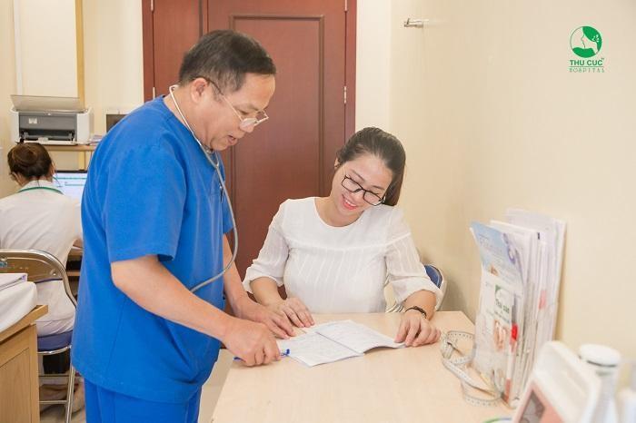 Để biết rõ nguyên nhân của căn bệnh vô sinh nữ, chị em nên tới bệnh viện ĐKQT Thu Cúc để được các bác sĩ Sản phụ khoa hàng đầu thực hiện các xét nghiệm cần thiết