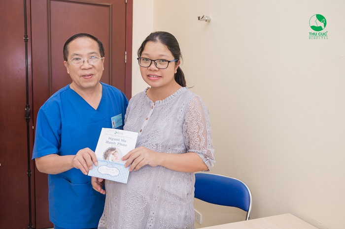 Để có một thai kỳ khỏe mạnh, chị em nên tới Bệnh viện ĐKQT Thu Cúc để khám thai định kỳ nhé.