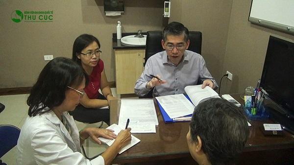 Bệnh viện Thu Cúc có bác sĩ giỏi đến từ Singapore sẽ trực tiếp tư vấn điều trị bệnh cho người bệnh