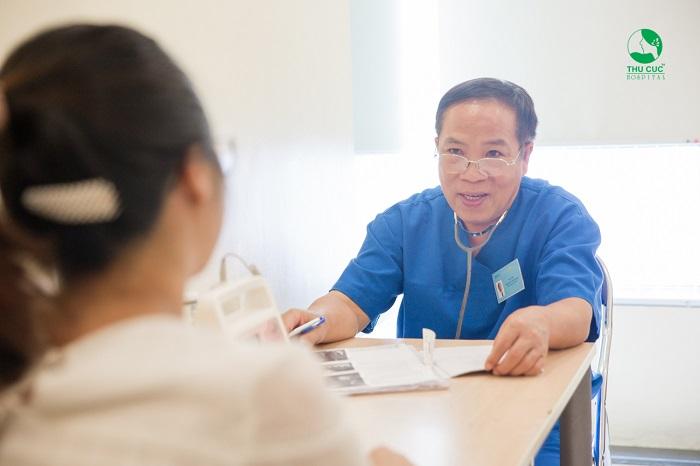 Để biết tiểu đường thai kỳ ăn phô mai được không, mẹ bầu nên tới Bệnh viện Thu Cúc khám thai định kỳ để được bác sĩ thăm khám và tư vấn chế độ dinh dưỡng phù hợp