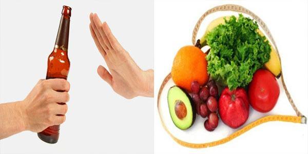 Áp dụng chế độ ăn uống khoa học sẽ giúp phòng ngừa gan nhiễm mỡ hiệu quả