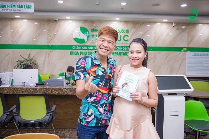 Bệnh viện ĐKQT Thu Cúc tự hào là địa chỉ vượt cạn của rất nhiều Sao Việt