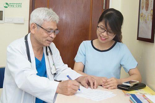 Bệnh viện Thu Cúc còn có bác sĩ chuyên môn giỏi sẽ tư vấn điều trị bệnh hiệu quả cho người bệnh.