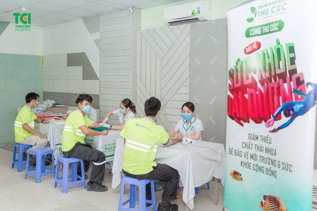 thủ tục khám sức khỏe tổng quát cho người lao động