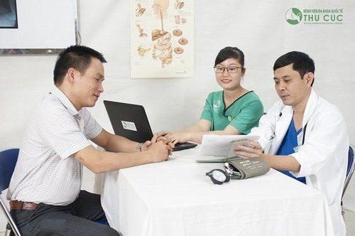 Người bệnh cần đi khám và tuân thủ theo đúng phương pháp điều trị của bác sĩ sẽ giúp cải thiện sớm bệnh