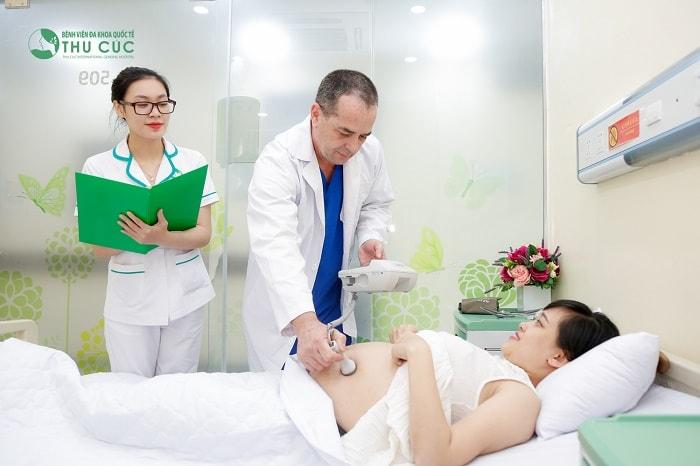 Khám thai tại các cơ sở y tế uy tín giúp mẹ bầu an tâm vì kết quả chính xác
