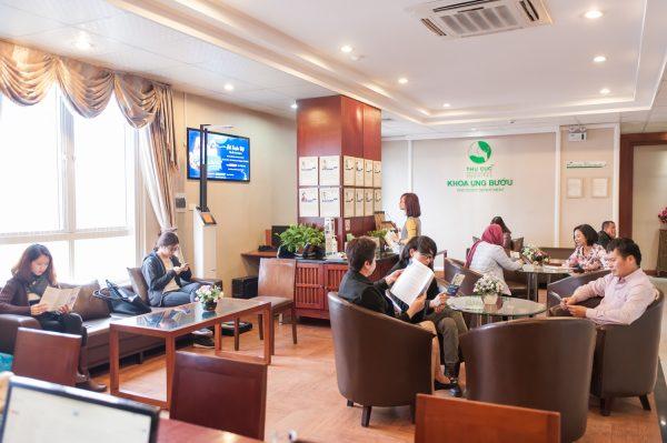 Khoa Ung bướu - Bệnh viện Thu Cúc có môi trường khám bệnh thân thiện