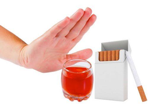 Sau nội soi dạ dày người bệnh cần kiêng rượu bia, thuốc lá và những thực phẩm cứng, nhiều dầu mỡ