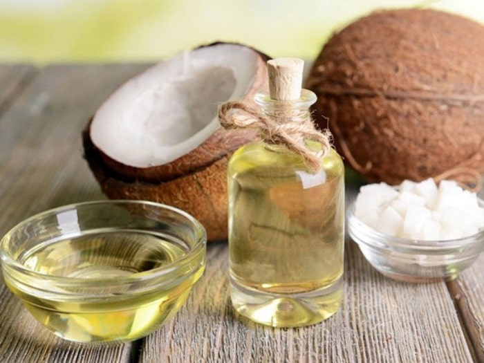 Làm đẹp sau sinh với dầu dừa