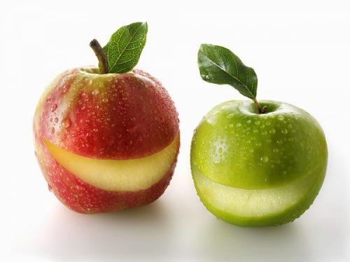 Quả táo chứa nhiều thành phần tốt cho cơ thể. Song đối với người mắc bệnh viêm ruột, nếu ăn táo cả vỏ có thể gây suy tiêu hóa. Các loại quả có vỏ khác như dưa chuột, dưa gang, lê... cũng xảy ra vấn đề tương tự như với táo. Vì vậy, những người mắc bệnh đường ruột khi ăn các loại quả này tốt nhất nên lột bỏ lớp vỏ trước khi ăn.
