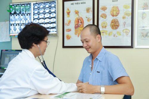 Người bệnh cần đi khám bác sĩ chuyên khoa Tiêu hóa để có thuốc chữa bệnh phù hợp