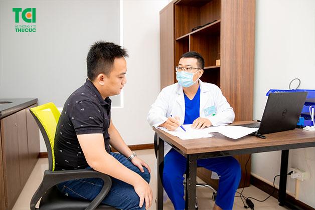 thực hiện quy trình khám sức khỏe định kỳ doanh nghiệp