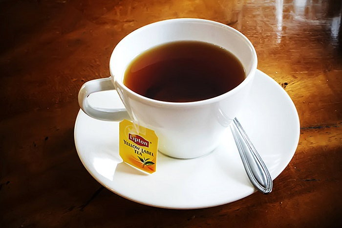 Mang thai uống trà Lipton được không