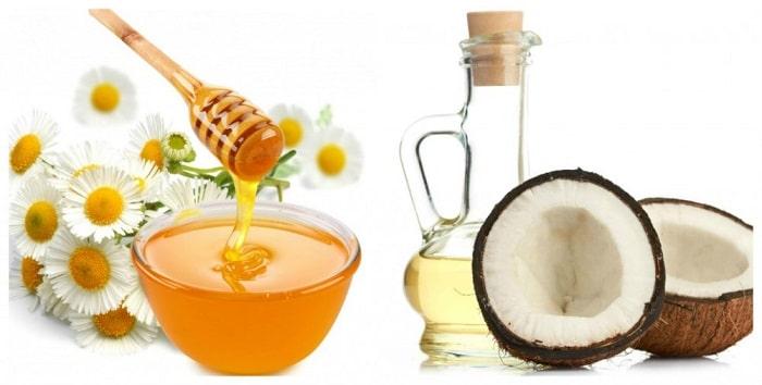 dầu dừa và mật ong giúp làm đẹp da hiệu quả