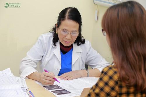 Chị em nên thăm khám và điều trị theo chỉ định của bác sĩ
