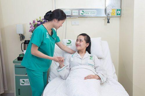 Mổ tắc ruột tại Bệnh viện Thu Cúc, người bệnh được điều trị và chăm sóc chu đáo.