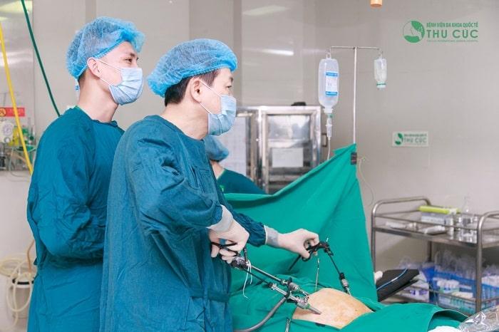 Bệnh viện ĐKQT Thu Cúc là địa chỉ khám và điều trị u nang buồng trứng uy tín