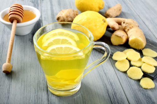 Có thể kết hợp gừng với mật ong và chanh để chữa bệnh đau dạ dày