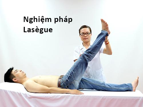 Nghiệm pháp Lasègue trong chẩn đoán hội chứng thắt lưng hông