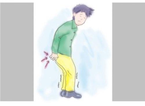 Ngứa hậu môn khiến người bệnh luôn có cảm giác khó chịu