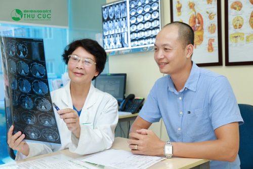 Người bệnh cần đi khám để được chẩn đoán chính xác tình trạng bệnh và có biện pháp điều trị phù hợp