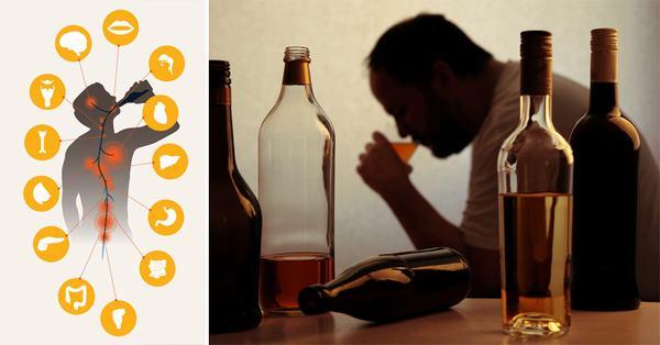 Người trào ngược dạ dày cũng cần kiêng uống rượu bia