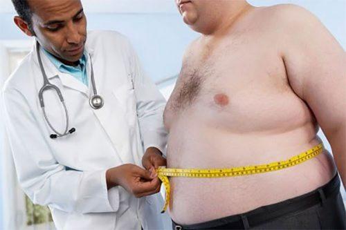 Thừa cân - béo phì cũng là một yếu tố làm tăng nguy cơ mắc ung thư đại tràng