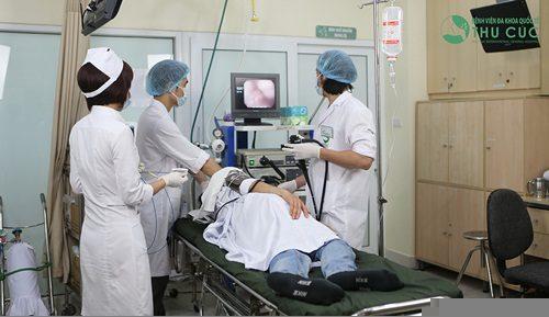 Nội soi gây mê cho bệnh nhân tiêu hóa được thực hiện tại bệnh viện Thu Cúc
