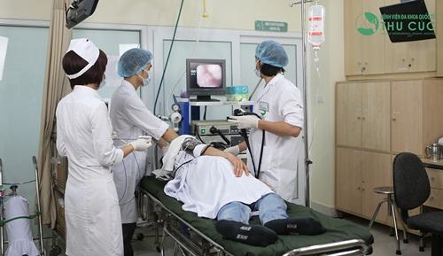 Nội soi gây mê đường tiêu hóa tại Bệnh viện Thu Cúc.