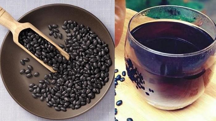 Nước đậu đen giúp giảm cân sau sinh