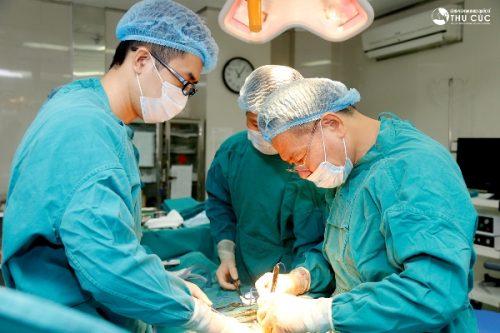Phẫu thuật cắt trực tràng tại Bệnh viện Thu Cúc người bệnh có thể hoàn toàn yên tâm về chất lượng.