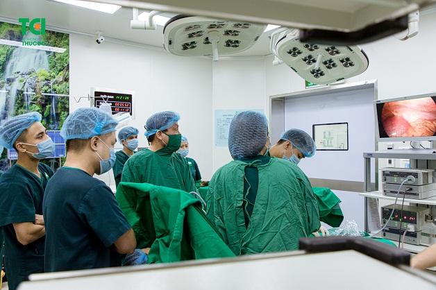 phẫu thuật nội soi cắt u xơ tử cung