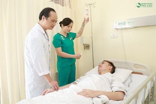 Phẫu thuật trĩ tại bệnh viện Thu Cúc với phương pháp hiện đại, ít đau, bác sĩ chăm sóc chu đáo