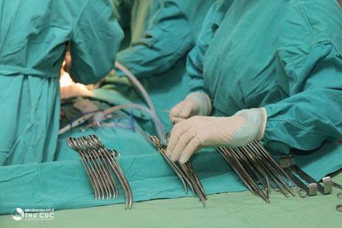 Phẫu thuật trĩ nội tại Bệnh viện Thu Cúc