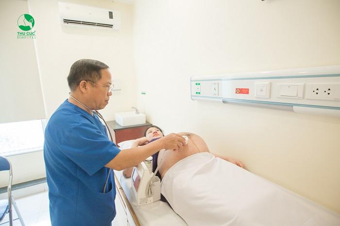 siêu âm tại phòng khám phụ sản uy tín Hà Nội
