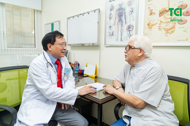 Sau khi khám xong, các bác sĩ sẽ kết luận về tình trạng tim mạch của bạn