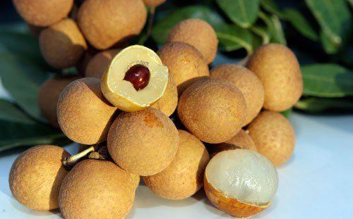 Trong quả nhãn chứa nhiều vitamin C, A... rất tốt cho cơ thể, đặc biệt là dạ dày