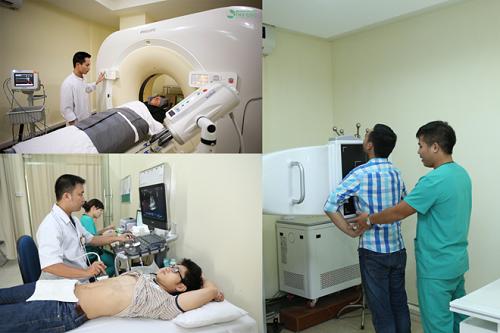Bệnh viện Thu Cúc đầu tư mạnh mẽ trang thiết bị y tế giúp phát hiện sớm bệnh