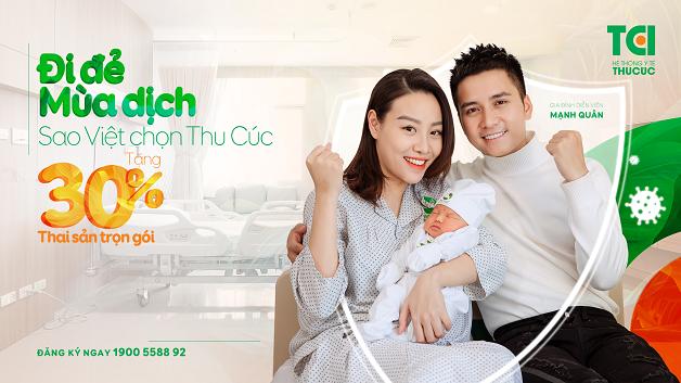 Vô vàn sao Việt đã tin tưởng lựa chọn Thu Cúc để đi đẻ trong mùa dịch