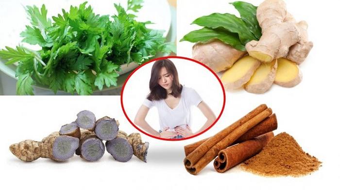 Ngoài ra có nhiều loại thảo mộc cũng giúp giảm cơn đau bụng kinh, chị em có thể tham khảo.