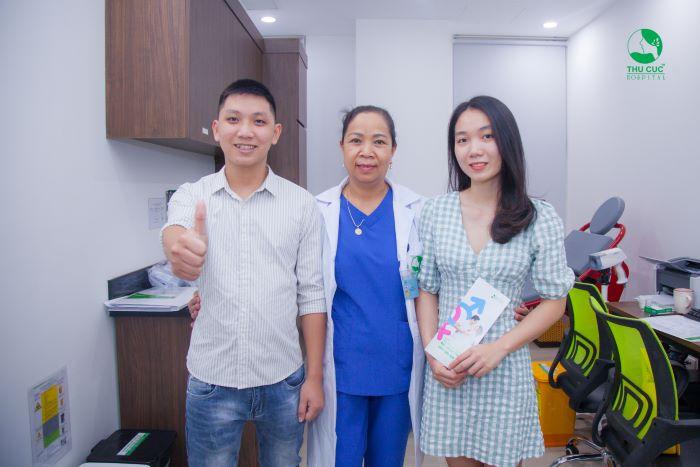 Bệnh viện ĐKQT Thu Cúc tự hào là địa chỉ khám phụ khoa uy tín.